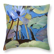 Capistrano Lillies Throw Pillow