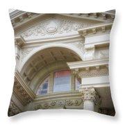 Capital Building Cheyenne Wyoming 01 Throw Pillow