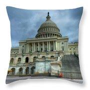 Capital Building Throw Pillow
