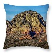 Capital Butte Evening Throw Pillow