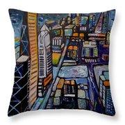Capital City Throw Pillow