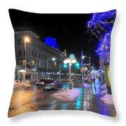 Capital Evening Throw Pillow