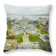 Capital Panoramic Throw Pillow