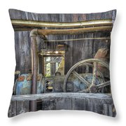 Capital Quarry Cutting Shed Throw Pillow