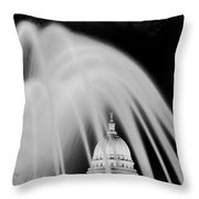 Capital Stained Throw Pillow