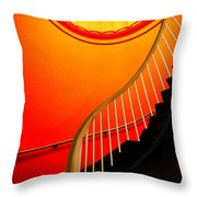 Capital Stairs Throw Pillow