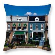 Capital Street Homes Throw Pillow