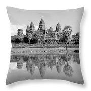 Capital Temple Throw Pillow