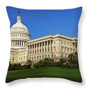 Capitol Building Throw Pillow