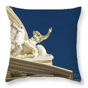 Capitol Frieze Sculpture Throw Pillow