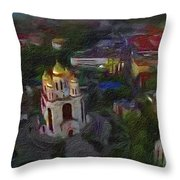 Capitol Graounds Throw Pillow