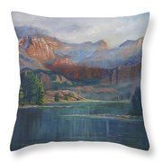 Capitol Peak Rocky Mountains Throw Pillow