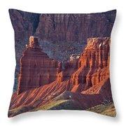 Capitol Reef 0706 Throw Pillow