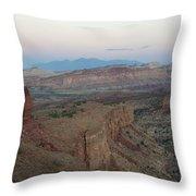 Capitol Reef 0716 Throw Pillow