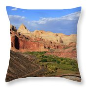 Capitol Reef State Park, Utah Throw Pillow