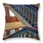 Capitol Stairwell Throw Pillow