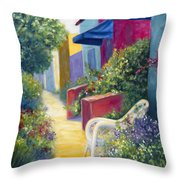 Capitola Dreaming Throw Pillow