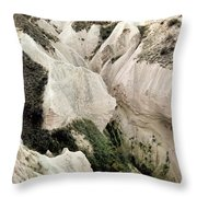 Cappadocia Canyon Throw Pillow