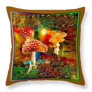 Capping It Off Throw Pillow