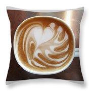 Cappuccino 2 Throw Pillow