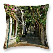 Capri Street Throw Pillow