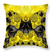 Caprice - Abstract Throw Pillow