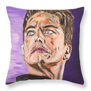 Captain Jack Harkness Throw Pillow