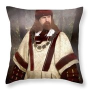 Captain Of The Guild Of St. Maurice Throw Pillow