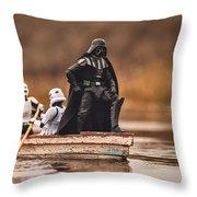 Captain Vader Throw Pillow