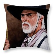 Captain Woodrow F Call Throw Pillow