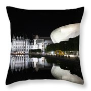 Captial Reflection Throw Pillow