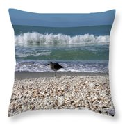 Captiva Island II Throw Pillow