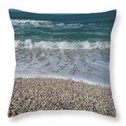 Captiva Island V Throw Pillow