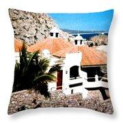 Captivating Cabo Throw Pillow