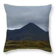 Captivating View Of The Mountains In Cuillen Hills  Throw Pillow