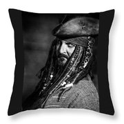 Capt'n Jack Throw Pillow