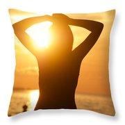 Capture Light Throw Pillow