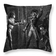Capture Of Fort Ticonderoga, 1775 Throw Pillow