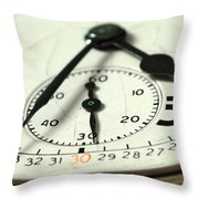 Captured Time Throw Pillow
