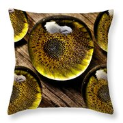 Captured Under Glass Series Group Two Throw Pillow