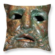 Capturing The Ghost Throw Pillow