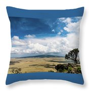 Capulin Volcano View New Mexico Throw Pillow
