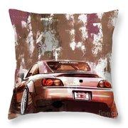 Car 001 Throw Pillow