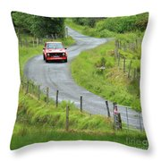 Car 88 Donegal International Rally Throw Pillow