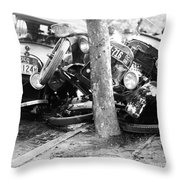 Car Accident, C1919 Throw Pillow