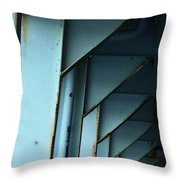 Car Ferry Throw Pillow