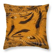 Car Inthe Kaleidoscope Throw Pillow
