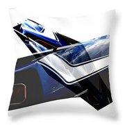 Car Reflection As Art 3 Throw Pillow