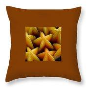 Carambola Throw Pillow