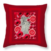 Carazon2 By Beth Valory And Julia Woodman Throw Pillow